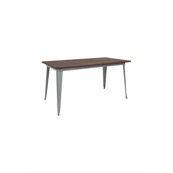 Debrah Metal Indoor Dining Table W000913475