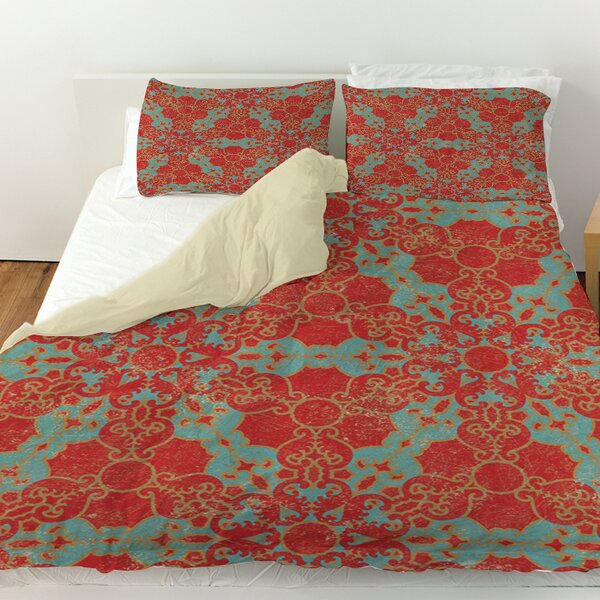 Kerrie Patterns 13 Duvet Cover by Red Barrel Studio