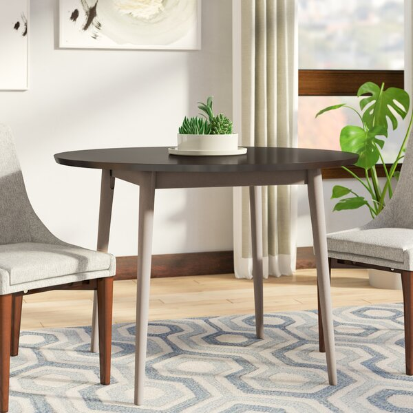 Bober Solid Wood Dining Table by Ivy Bronx
