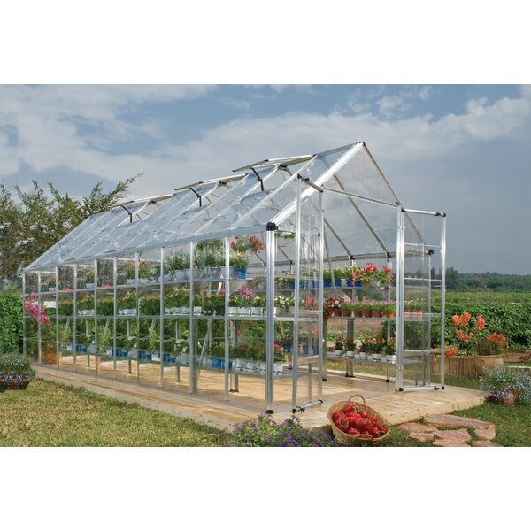 Snap & Grow 8 Ft. W x 20 Ft. D Greenhouse by Palram