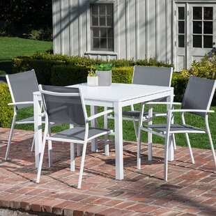 Walden 5 Piece Outdoor Patio Dining Set By Latitude Run
