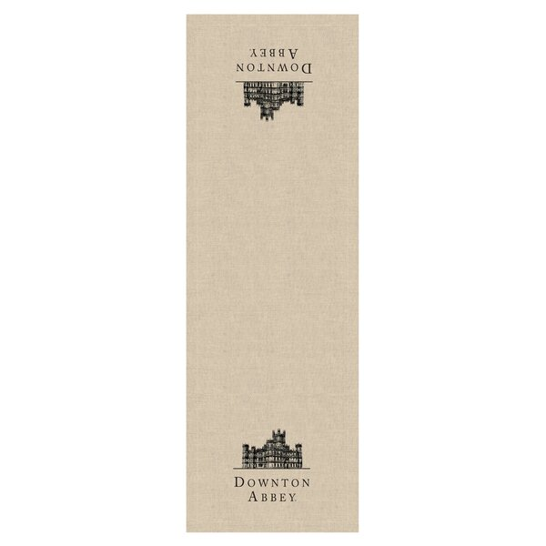 Downton Abbey Castle Table Runner by Heritage Lace