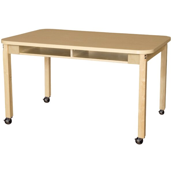Manufactured Wood 26 Multi-Student Desk by Wood Designs