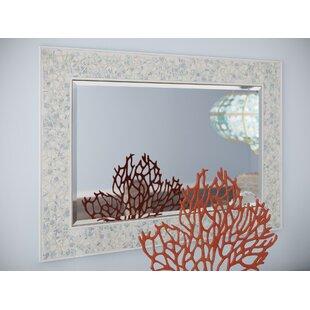 Beachcrest Home Willow Oak Wall Mirror