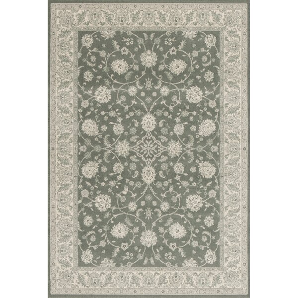 Alden Slate Blue Area Rug by Charlton Home