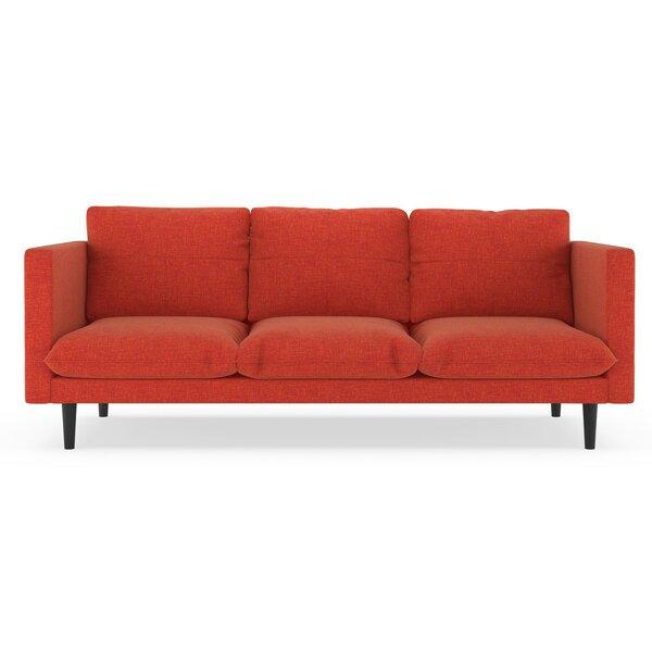 Cowie Cross Weave Sofa by Corrigan Studio