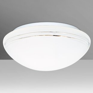 Great Price Bobbi 1-Light Outdoor Flush Mount By Besa Lighting