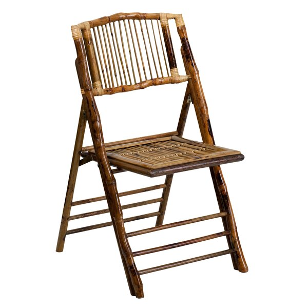 American Champion Wood Folding Chair (Set of 2) by Flash Furniture
