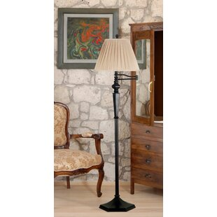 Halvorson 60.5 Swing Arm Floor Lamp By Charlton Home Lamps