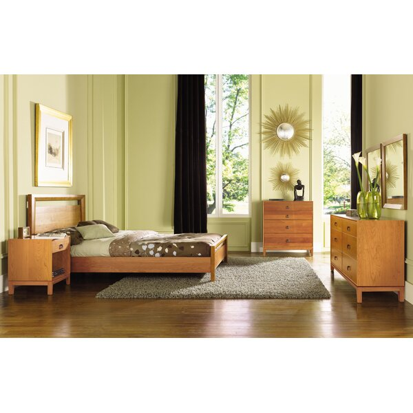 Mansfield Platform Bed by Copeland Furniture