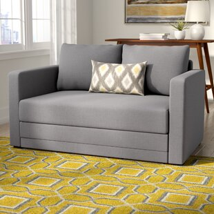 Campanelli Sleeper Loveseat Ebern Designs