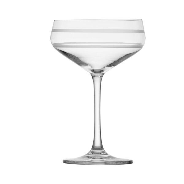 Signature Etched Coupe 9.1 oz. Cocktail Glass by Crafthouse by Fortessa