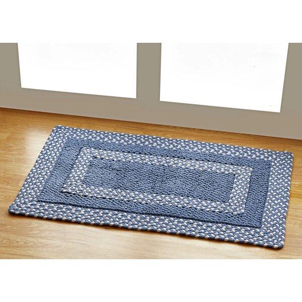 Hercules Blue Indoor/Outdoor Area Rug by Better Trends
