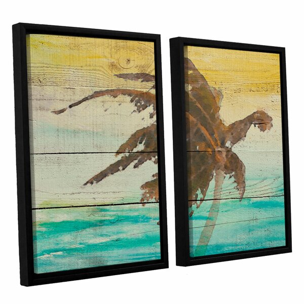 Into The Light II 2 Piece Framed Painting Print on Wrapped Canvas Set by Bay Isle Home