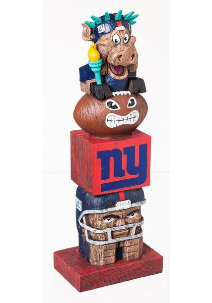 NFL Tiki Totem Statue by Evergreen Enterprises, Inc