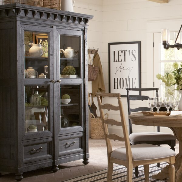Alona Lighted China Cabinet by Gracie Oaks