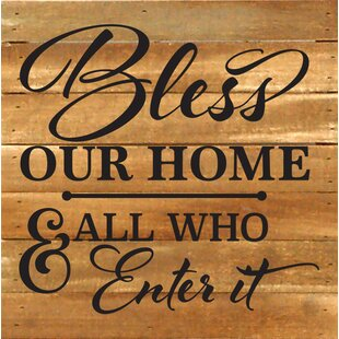 Wonderful Bless This Home Wall Art | Wayfair OX44