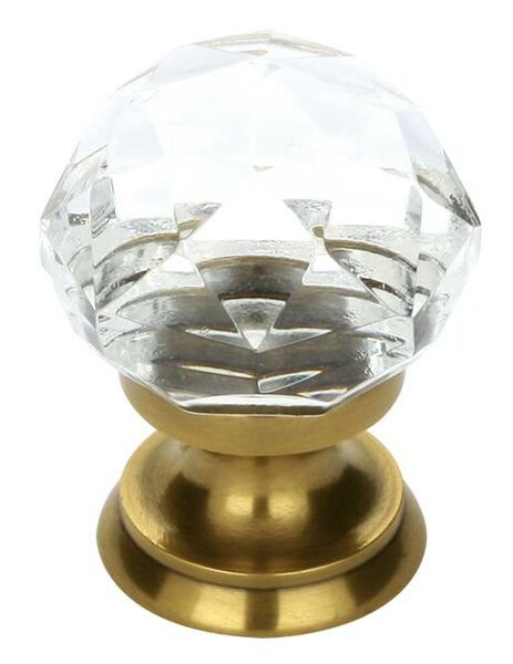 Diamond Crystal Knob by Emtek