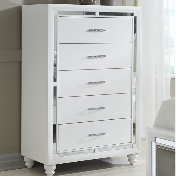 Rhona 5 Drawer Chest by Rosdorf Park