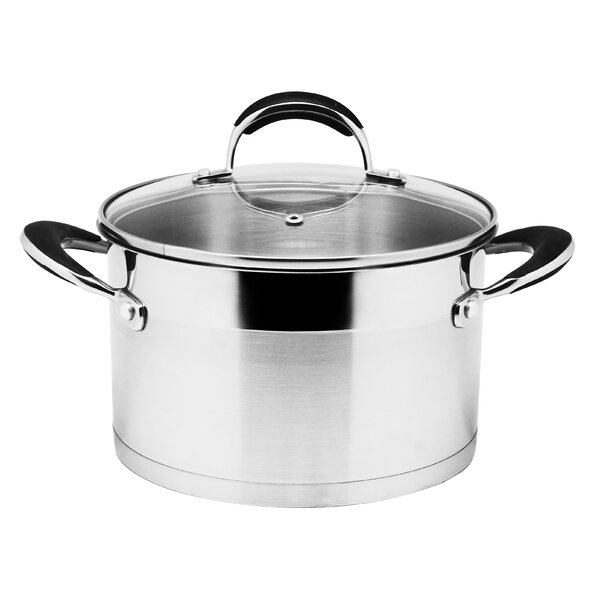 3-qt. Stock Pot with Lid by Prime Cook