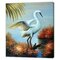 Florida Wildlife Scene Art Print Wrapped on Canvas