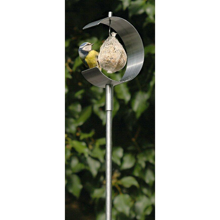 Blomus nido curved decorative bird feeder reviews wayfair for Artificial birds for decoration