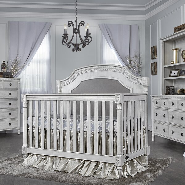 Julienne 5-in-1 Convertible Crib by Evolur