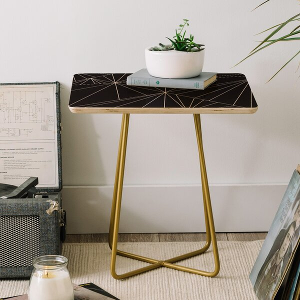 Three of the Possessed Biscayne End Table by East Urban Home East Urban Home