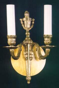 Bloch 2-Light Candle Wall Light Astoria Grand