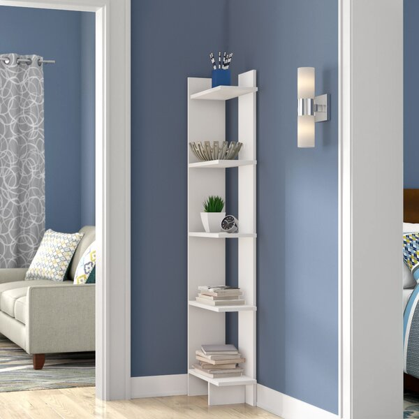 Lorena Ladder Corner Unit Bookcase by Latitude Run