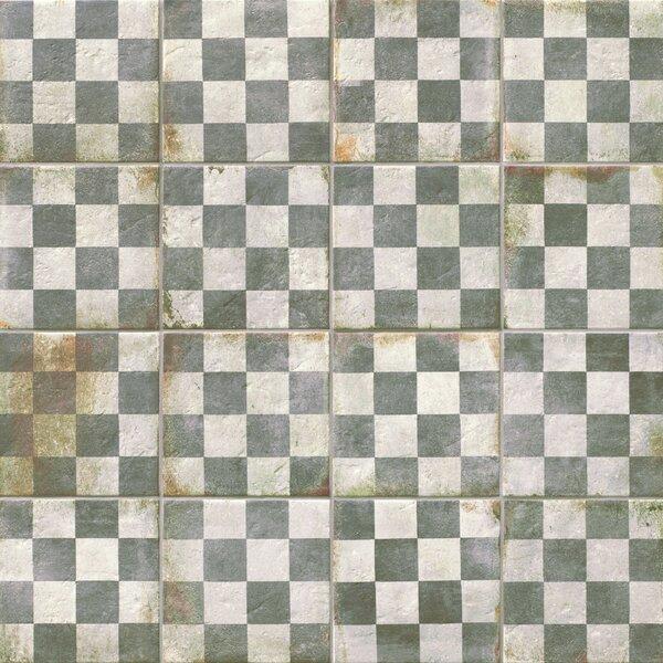 Relic Décor 8.75 x 8.75 Porcelain Field Tile in Quadrati by EliteTile