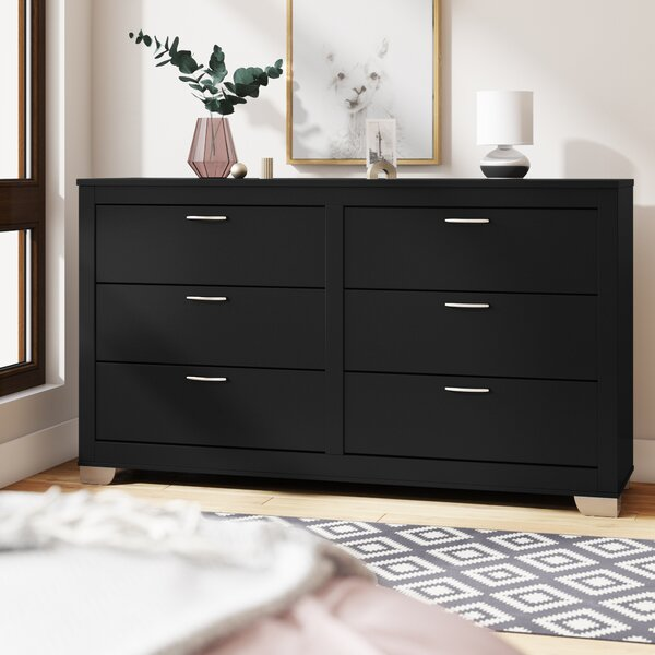 Louise 6 Drawers Double Dresser by Latitude Run