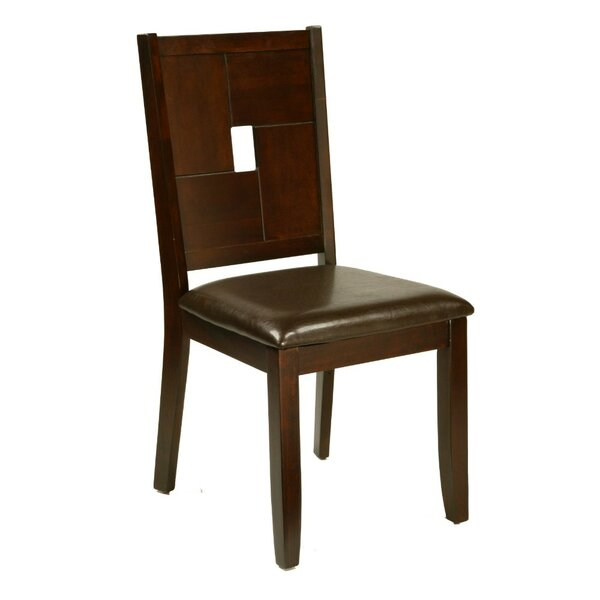 Norwell Solid Wood Dining Chair (Set of 2) by World Menagerie