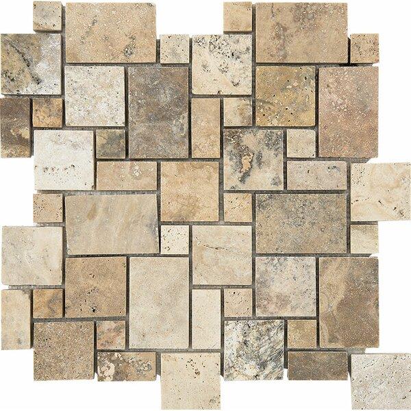 Philadelphia Mini Versailles Random Sized Stone Mosaic Tile By Parvatile