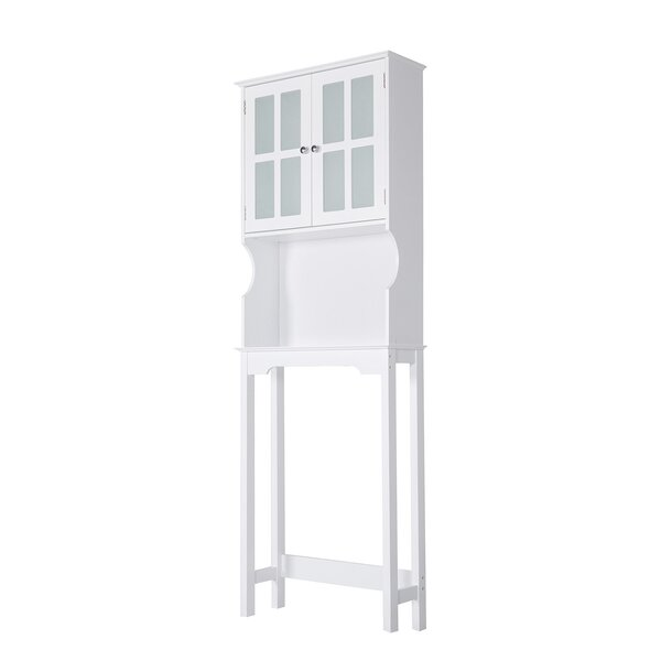 Abbi-Leigh 24 W x 67 H x 8 D Free-Standing Over-The-Toilet Storage