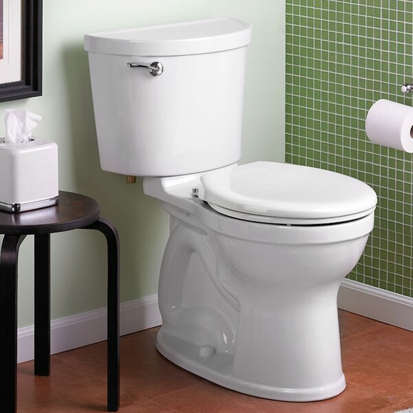 Champion 1.6 GPF Round Two-Piece Toilet by American Standard