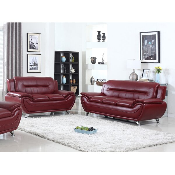 Brose 2 Piece Living Room Set by Ebern Designs