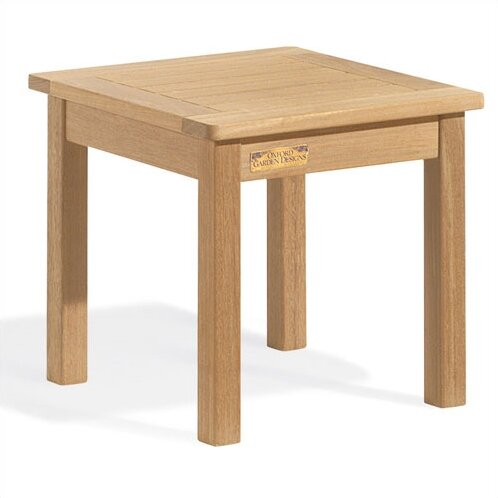 Myres Teak Side Table by Beachcrest Home