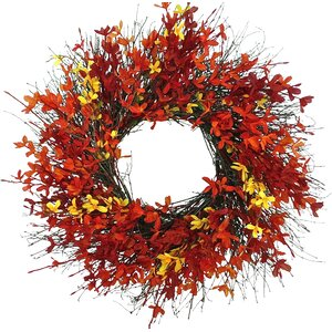 Firebush Wreath