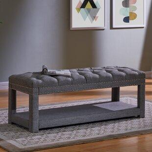 Bargain Karlton Upholstered Storage Bench ByAlcott Hill