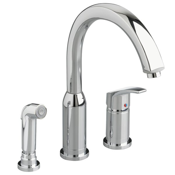 Arch Single Handle Kitchen Faucet with Side Spray by American Standard