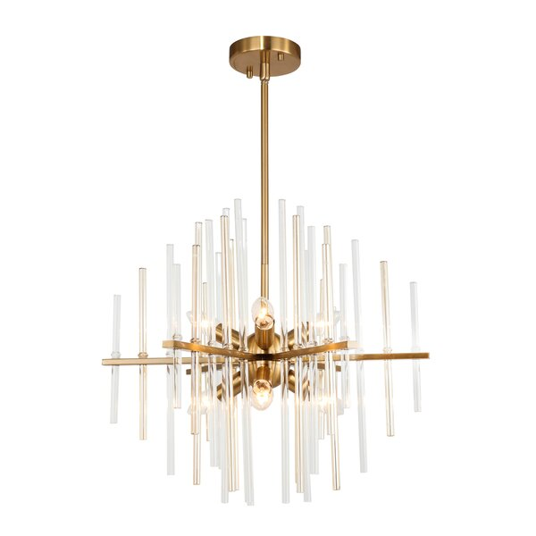 Evander 6-Light Sputnik Sphere Chandelier by Mercer41 Mercer41