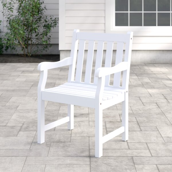 Andromeda Patio Dining Chair by Beachcrest Home