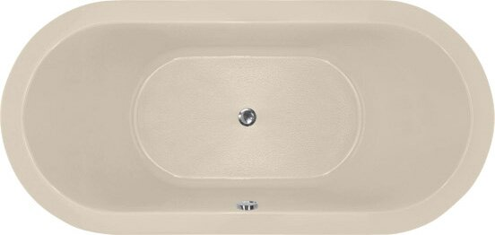 Designer Elle 72 x 36 Soaking Bathtub by Hydro Systems