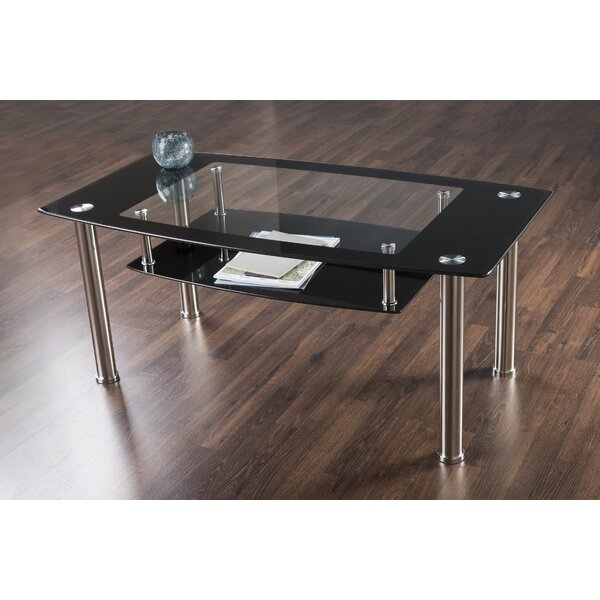 Coffee Table With Magazine Rack By AVF