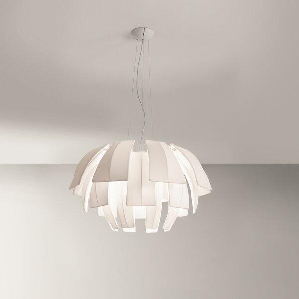 Burruss 3-Light Unique / Statement Geometric Chandelier By Orren Ellis