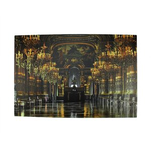 Battery Operated 6 LED Lighted Paris Opera House Scene Photographic Print on Canvas by Northlight Seasonal