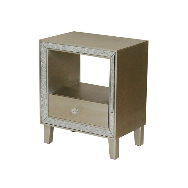 Reede 1 Drawer Accent Chest by House of Hampton House of Hampton