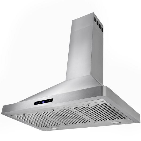 36 343 CFM Convertible Wall Mount Range Hood by AKDY
