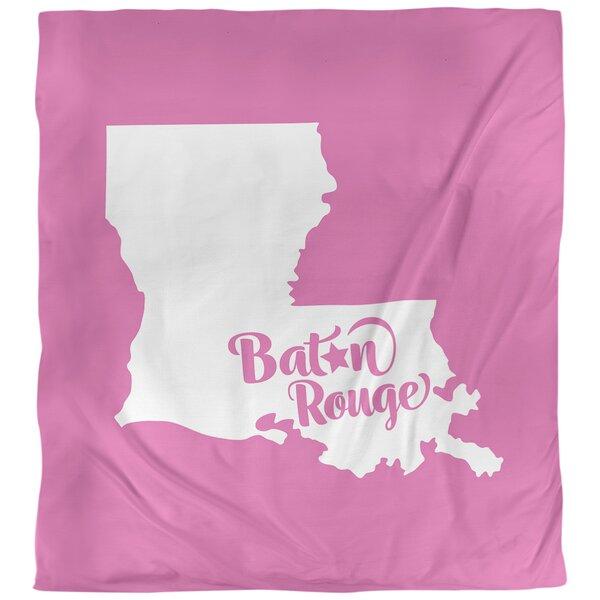 Baton Rouge Louisiana Duvet Cover Set